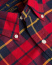 Polo Ralph Lauren Slim Fit Stretch Oxford Check Shirt Red Black