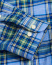 Barbour Lifestyle Tailored Fit Highland Check 26 Shirt Sky Blue