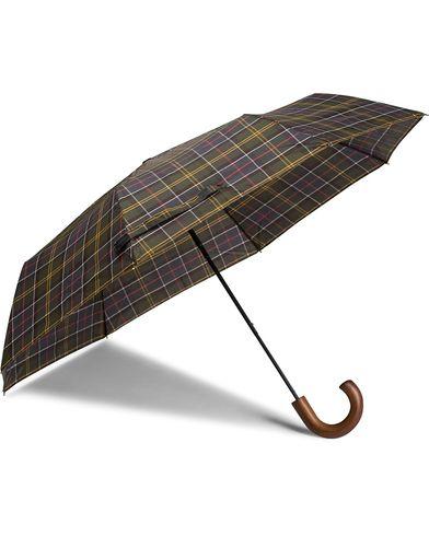 Barbour Lifestyle Classic Telescopic Umbrella Tartan