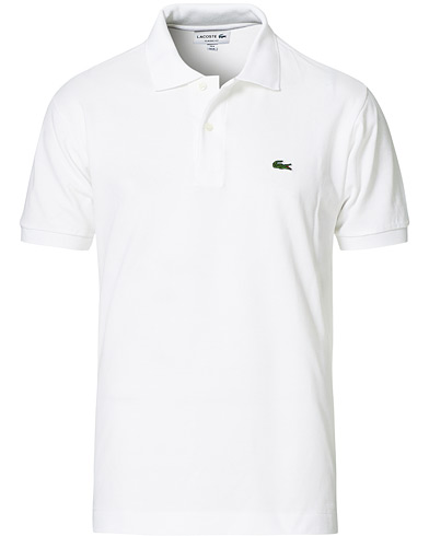 Lacoste Original Polo Piké White i gruppen Klær / Pikéer hos Care of Carl (10298411r)