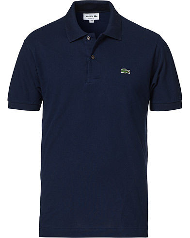Lacoste Original Polo Piké Navy i gruppen Klær / Pikéer hos Care of Carl (10298511r)