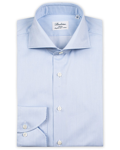 Stenströms Slimline Shirt Thin Stripe Blue i gruppen Klær / Skjorter / Formelle / Businesskjorter hos Care of Carl (10340511r)