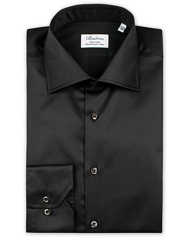 Stenströms Fitted Body Shirt Black i gruppen Klær / Skjorter / Formelle / Formelle skjorter hos Care of Carl (10355111r)