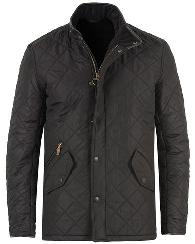 Barbour International Powell Quilted Jacket Black i gruppen Klær / Jakker / Quiltede jakker hos Care of Carl (10457111r)