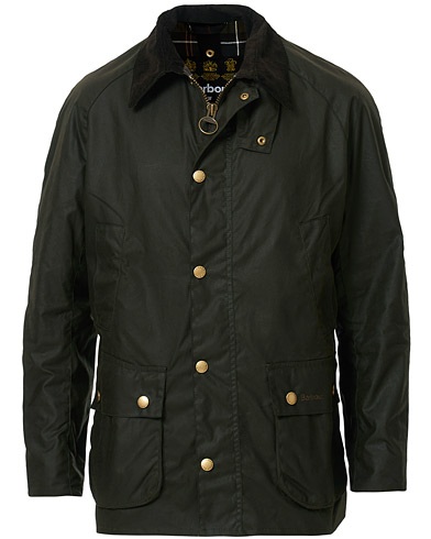 Barbour Lifestyle Ashby Jacket Olive i gruppen Klær / Jakker / Voksede jakker hos Care of Carl (10457611r)