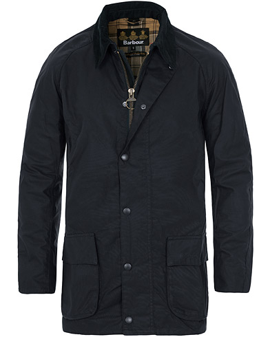 Barbour Lifestyle Bristol Jacket Navy i gruppen Klær / Jakker / Voksede jakker hos Care of Carl (10522211r)