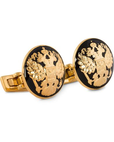 Skultuna Cuff Links The Double Eagle/Baroque  i gruppen Assesoarer / Mansjettknapper hos Care of Carl (10530510)