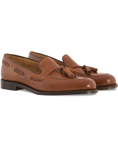 Loake 1880 Temple Loafer Brown Burnished Calf