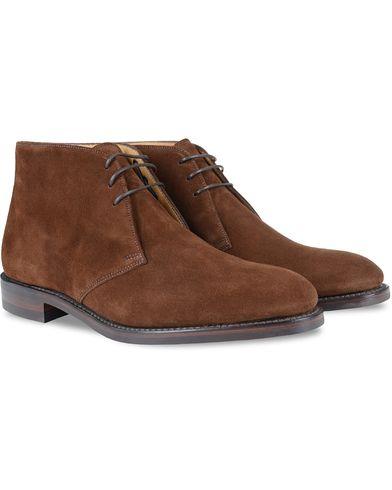 Loake 1880 Kempton Boot Brown Suede