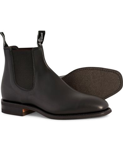 R.M.Williams Blaxland G Boot Yearling Black UK6 - EU39