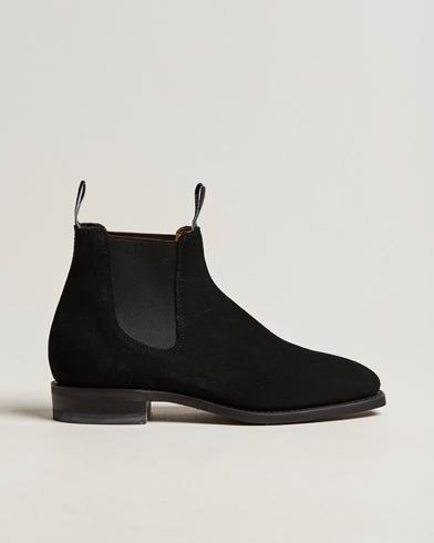 R.M.Williams Blaxland G Boot Suede Black
