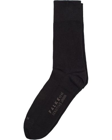 Falke Sensitive Socks London Black i gruppen Klær / Undertøy / Sokker hos Care of Carl (10746411r)