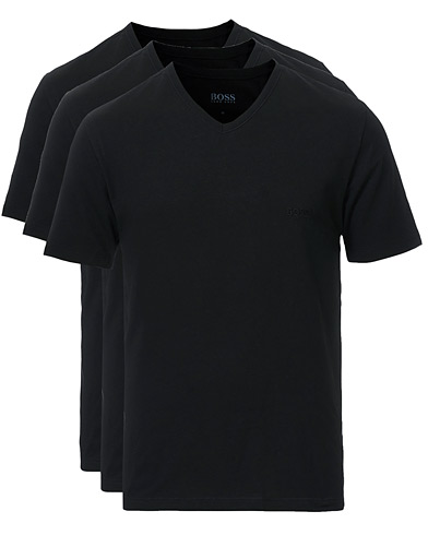 BOSS 3-Pack V-Neck T-Shirt Black i gruppen Klær / T-Shirts hos Care of Carl (10786311r)