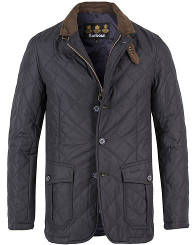 Barbour Lifestyle Quilted Lutz Jacket Navy i gruppen Klær / Jakker / Quiltede jakker hos Care of Carl (10944011r)