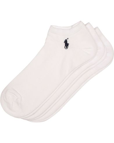 Polo Ralph Lauren 3-Pack Ghost Sock White  i gruppen Klær / Undertøy / Sokker hos Care of Carl (10980910)
