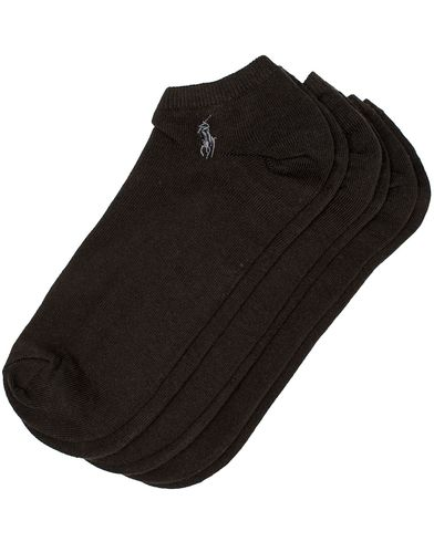 Polo Ralph Lauren 3-Pack Ghost Sock Black  i gruppen Klær / Undertøy / Sokker hos Care of Carl (10981010)
