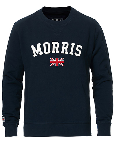 Morris Brown Sweater Navy i gruppen Klær / Gensere / Sweatshirts hos Care of Carl (10983811r)