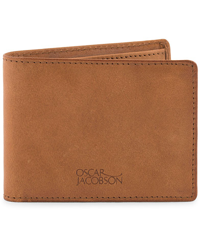 Oscar Jacobson Leather Wallet Tan  i gruppen Assesoarer / Lommebøker hos Care of Carl (10998210)