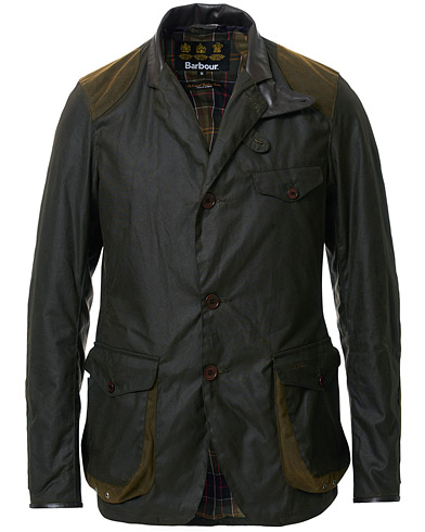 Barbour Lifestyle Beacon Sports Jacket Olive i gruppen Klær / Jakker / Voksede jakker hos Care of Carl (11008611r)