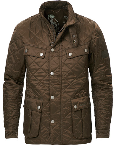 Barbour International Ariel Quilted Jacket Olive i gruppen Klær / Jakker / Quiltede jakker hos Care of Carl (11211511r)