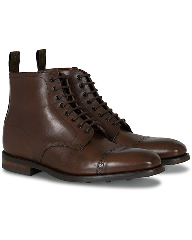 Loake 1880 Hyde Boot Dark Brown i gruppen Sko / Støvler hos Care of Carl (11235011r)