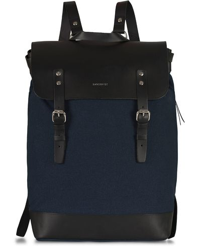 Sandqvist Hege Canvas Backpack Blue