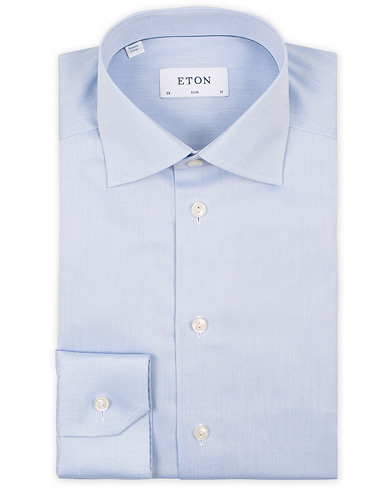 Eton Slim Fit Shirt Blue i gruppen Klær / Skjorter / Formelle / Businesskjorter hos Care of Carl (11270911r)