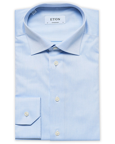 Eton Contemporary Fit Shirt Blue i gruppen Klær / Skjorter / Formelle / Formelle skjorter hos Care of Carl (11271511r)