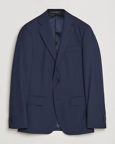 Oscar Jacobson Edmund Blazer Super 120's Wool Navy