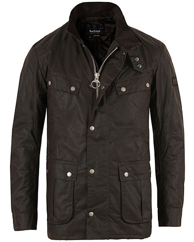 Barbour International Duke Jacket Rustic i gruppen Klær / Jakker / Voksede jakker hos Care of Carl (11498911r)