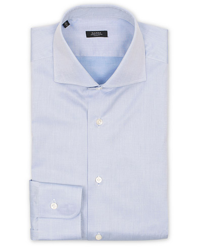 Barba Napoli Slim Fit Shirt Light Blue