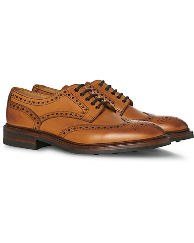 Loake 1880 Chester Dainite Brogue Tan Burnished Calf