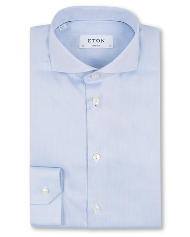 Eton Super Slim Fit Shirt Blue i gruppen Klær / Skjorter / Formelle / Formelle skjorter hos Care of Carl (11615411r)