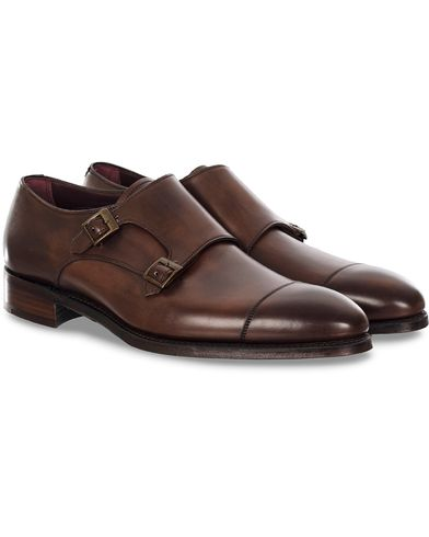 Cheaney Holyrood Double Monkstrap Bronzed Calf
