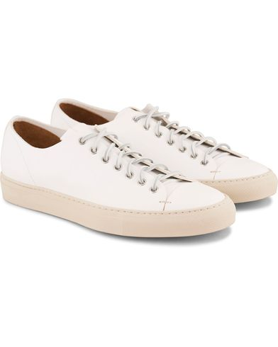Buttero Sneaker White Calf i gruppen Sko / Sneakers / Sneakers med lavt skaft hos Care of Carl (11942511r)