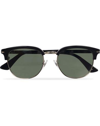 Persol PO3105S Sunglasses Black/Green