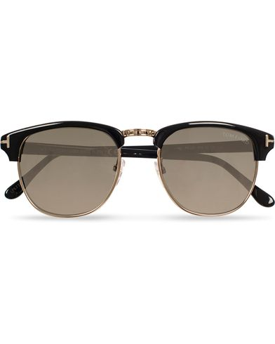 Tom Ford Henry FT0248 Sunglasses Black/Grey i gruppen Assesoarer / Solbriller / Buede solbriller hos Care of Carl (11954910)