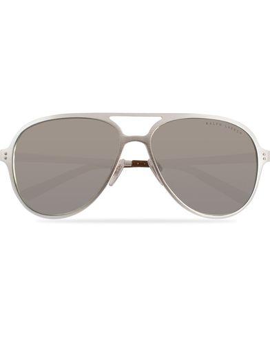 Ralph Lauren Eyewear RL7049Q Sunglasses Brushed Silver/Silver Mirror