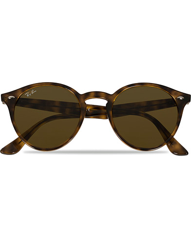 Ray-Ban RB2180 Acetat Sunglasses Dark Havana/Dark Brown  i gruppen Assesoarer / Solbriller / Runde solbriller hos Care of Carl (11964910)