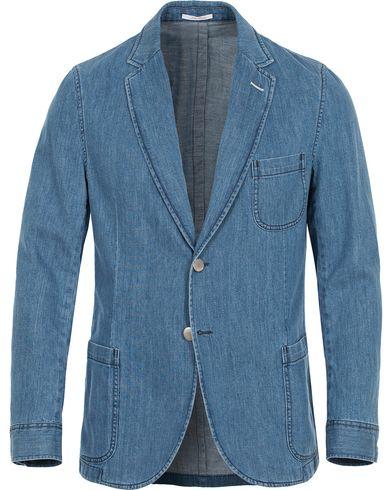 GANT Rugger Denim Shirt Blazer Mid Bue