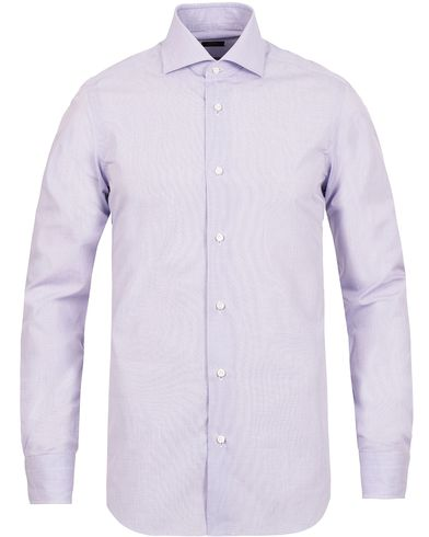 Barba Napoli Slim Fit Shirt Lavendel