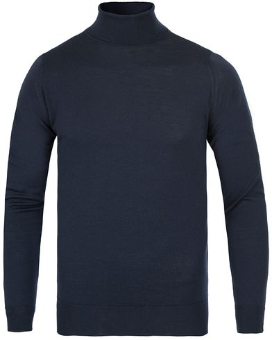 John Smedley Belvoir Roll Neck Midnight