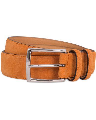 Morris Suede 3,5 cm Belt Orange