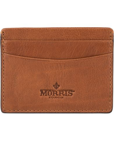 Morris Credit Card Holder Cognac  i gruppen Assesoarer / Lommebøker hos Care of Carl (12213310)