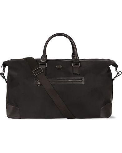 J.Lindeberg S-Bag 50001 Nylon/Leather Weekendbag Black