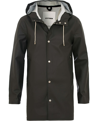 Stutterheim Stockholm Raincoat Black i gruppen Klær / Jakker / Regnjakker hos Care of Carl (12244711r)