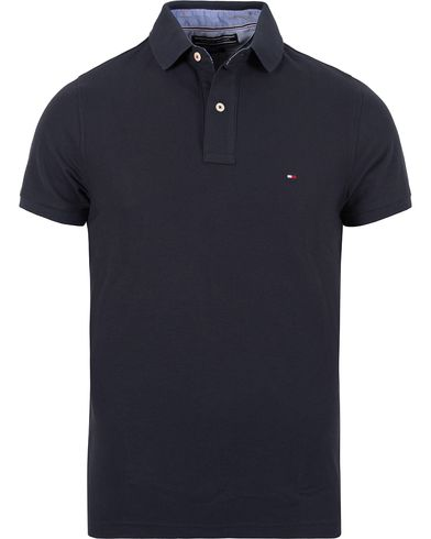 Tommy Hilfiger Performance Polo Midnight i gruppen Klær / Pikéer / Kortermet piké hos Care of Carl (12268611r)