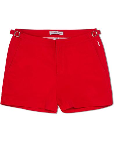 Orlebar Brown Setter Short Length Swim Shorts Rescue Red i gruppen Klær / Badeshorts hos Care of Carl (12282511r)