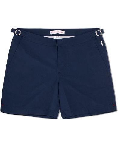 Orlebar Brown Bulldog Medium Length Swim Shorts Navy