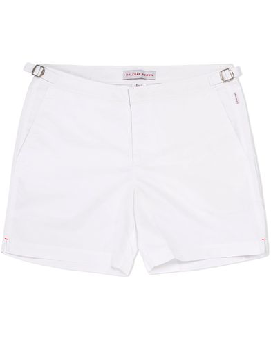 Orlebar Brown Bulldog Medium Length Swim Shorts White